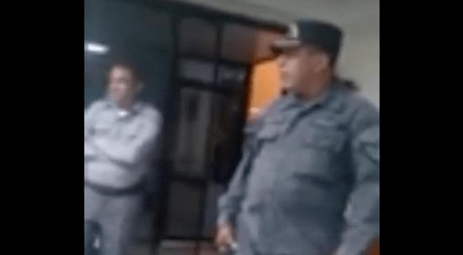 VÍDEO.- Agente PN apresó con drogas a hijastro de un superior y confrontó problemas en Puerto Plata