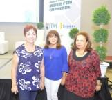 Margarita Mendoza, Esquenia Polanco y Ruth Miriam Elena Cohn.