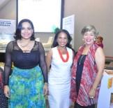 Elizabeth Gutierrez, Zoila Fernandez y Joselin Sosa.
