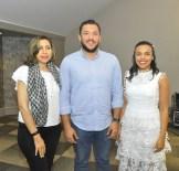 Lucy Arraya, Victor Recio y Rommy Pichardo.