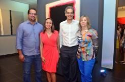 Ariel Barinas, Scarlett Espino, Susanne de Haché y Pedro Haché.