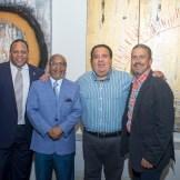 Francisco Matos, Abil Peralta Agüero, Ranier Sebelén y Juan Julio Bodden.