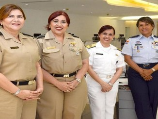 Las generales. Ramona Díaz Morfa, Mayra Duval, Mayra Díaz y Rosanna Pons Peguero.