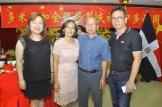 Iris Kang, Clara Joa, Luis Yang y Miguel Chea.