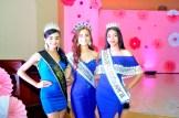 Stefani Gonzalez, Yosanni Tapia y Abril Guzman.