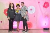 Los diseñadores Margarita Fria, Yahaira Brea y Socrates Cabral.