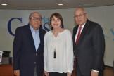 Octavio Luna, Dilia de Luna y Erasmo Vasquez Henriquez.