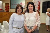 Rosa Heredia y Yasmin Pineda.