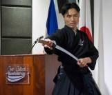 Demostración del Iaidō, arte marcial japonés para la defensa personal