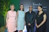 Maricarmen Orizondo, Helen de Garrido, Rafael Álvarez y Martha Lugo