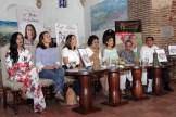 Delores Sánchez, Roxanna Rivera, Lidia Martinez de Macarrulla, Verónica Sención, Lucia Amelia Cabral, Rosa Francia Esquea y Arvar Ojeda