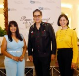 Jacqueline Ramos, Tony Boga y Berenice Méndez.