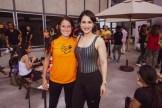 Jolanda Valerio y Kimberly Lopez