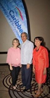 Thania Ramírez, Federico González y Sevil Modeste