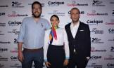 Luciano Adib Ángel, Katherline Crespo y Fernando Di Leo