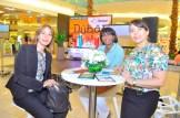 Miriam Moreta, Ivelisse Ubri y Vivian Cabral.