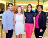 Victor Hernandez, Dafne Guzman, Emely Villalona y Wendy Ponce.