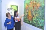 Bertha Medina y Laura Serrata.