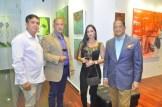 David Rojas, Carlos Padron, Yolimar Garcia y Mayobanex Garcia.