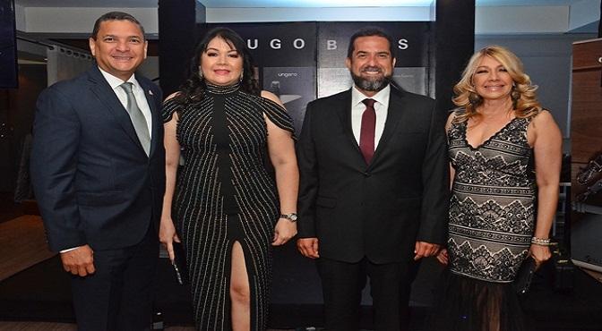 Ignacio Glass, Sulin Lantigua de Glass, Benson Leigh y Francis Aguiar.