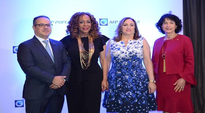 Luis Jose Jimenez, Martha Beato, Adela Baez y Atlantida Perez