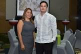 Cecilia Grullón y Fernando Ramos.