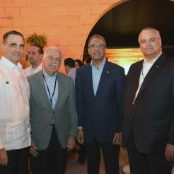 Máximo Vidal, Luis E. Molina, Simón Lizardo y Luis Espinola.