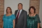 Rafaela Sención, Jose Miguel Gómez y Niove Sención.