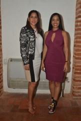 Gianna Ramos y Delores Sánchez.