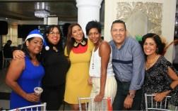 Miguelina Santos, Silvana Marte, Yenny Polanco Lovera, Yubelkis Mejía, Reynaldo Echavarría y Mayra Pérez