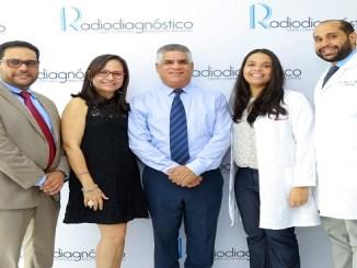 Rodolfo Pichardo Erickson, Rossanna Pichardo, Wady Musa, Alice Pérez y Tomás Belliard.