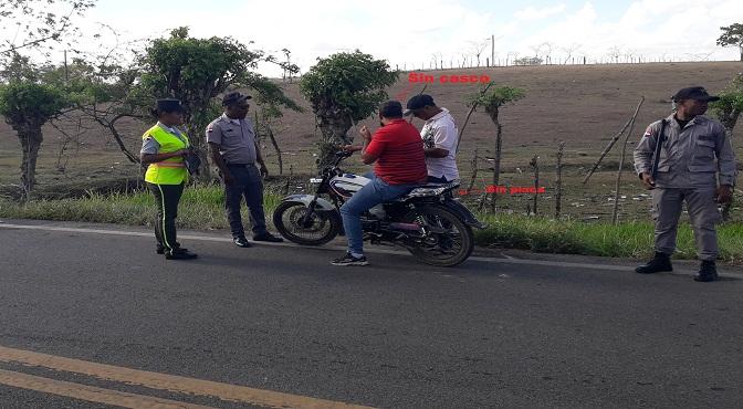 Director de la DIGESETT dispuso fortalecer fiscalización de motocicletas en todo el territorio nacional