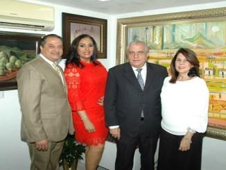 José Luis Cartagena, Gisell de Cartagena, Juan Betances y Ana Maria de Betances