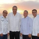 Henry Ulloa,Jaime Tavarez,Humberto Pichardo y Reinaldo Soto