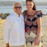 Luis López y Martina Beeken