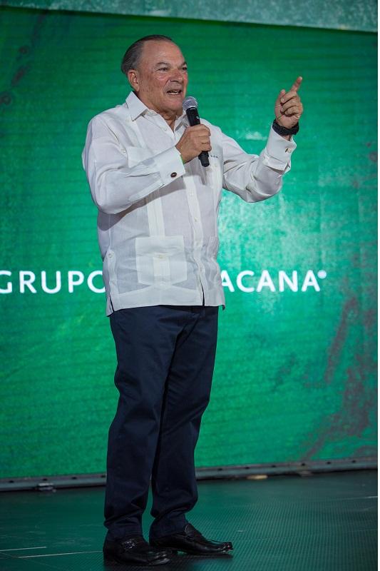 Presidente y CEO de Grupo Puntacana, Frank Rainieri
