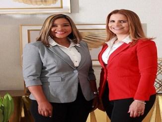 Yudelka Jiménez y Elisa Marmolejos.