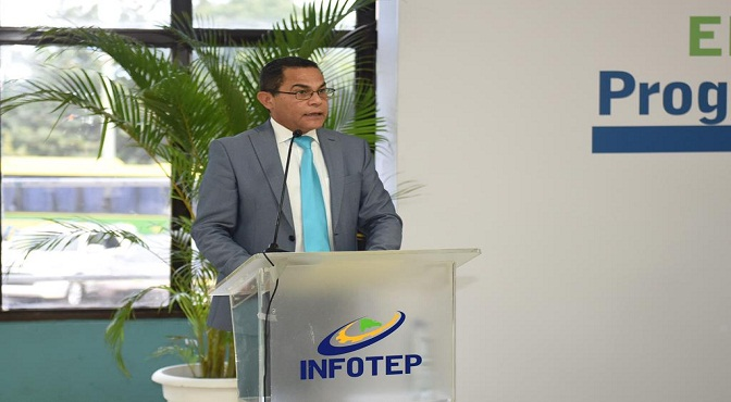 Rafael Ovalles, director general del INFOTEP