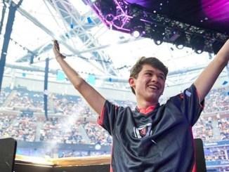 """Kyle Giersdorf, conocido en el mundo online como """"Bugha"""", fue el vencedor de la modalidad en solitario del Mundial de Fortnite."""