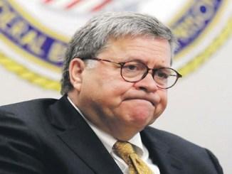 El fiscal general William Barr dio la información.