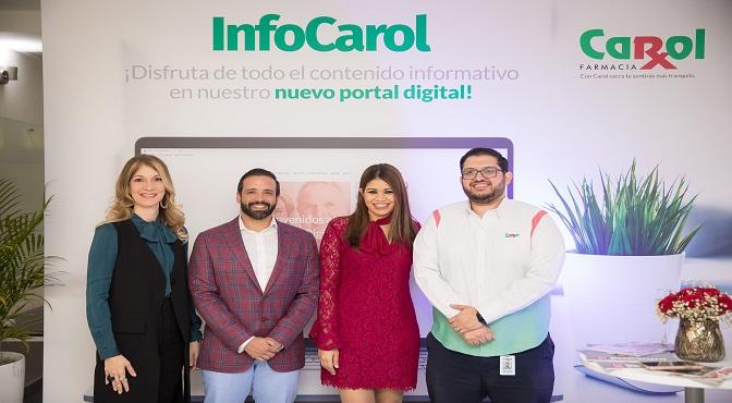 Maria Teresa Ferreiro, Julio Rafael Curiel, Massiel Reyes y Rafael Mejía.