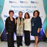 Margarita Mendoza , Rosa Francia Esquea , Esquenia Polanco y Ana Moreno