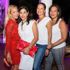 Teresa de la Pisa, Francesca Rainieri, Odilis Asilis y Jesenia Asilis-Swinsburg