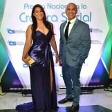 Yenny Polanco Lovera y Salvador Batista.