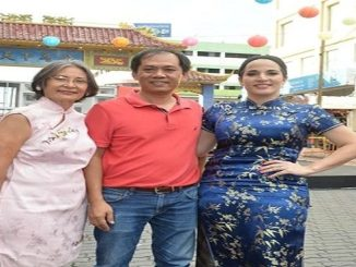 Comite de festejos. Clara Joa, Ruben Lu y Henya Tejada.