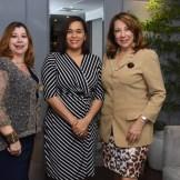 Silvinia Frías, Dayana Acosta, Xiomara Pimentel