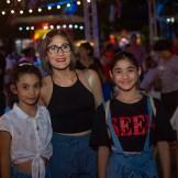 Gia Geraldino, María Teresa Martínez y Zoe Geraldino.