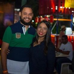 Waldo Mata y Raquel De León.