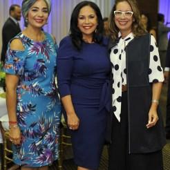 María Elena Núñez, Adalgisa Pantaleón y Ana Mitila Lora