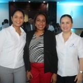 Ana Rodriguez, Dra Silvestra Pichardo y Anable Batista